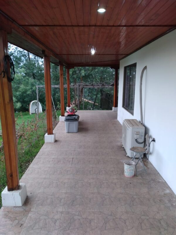 Patio techado